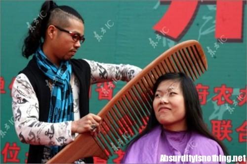 Permanente capelli dai cinesi