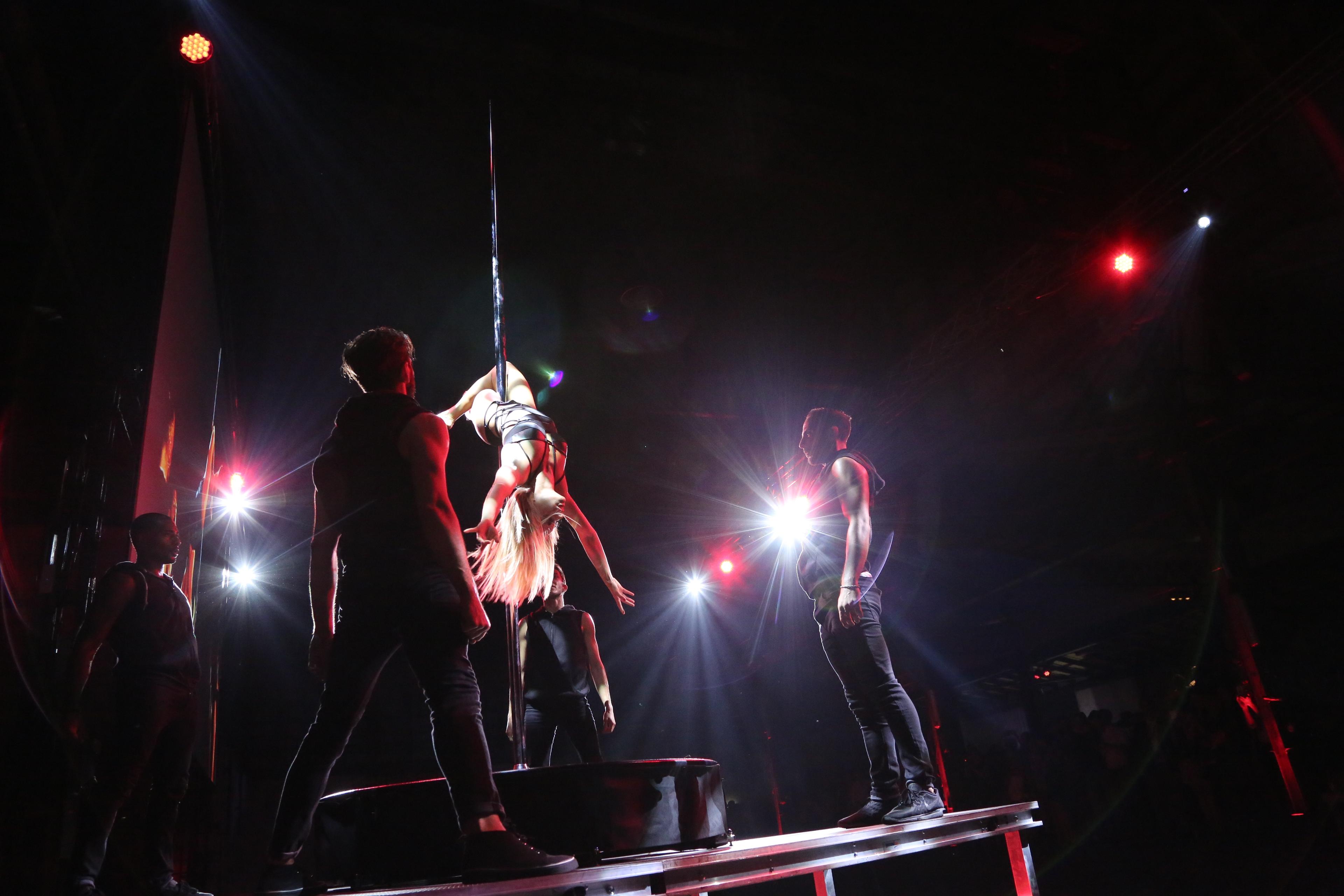 La pole dance di Francesca Leto